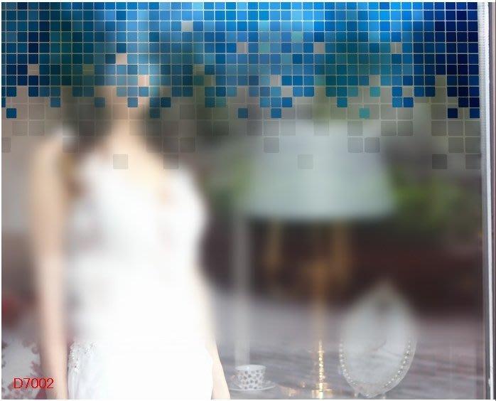 壁貼工場-玻璃貼 無痕貼 壁貼 牆貼 透明磨砂 馬賽克 窗貼 K7002