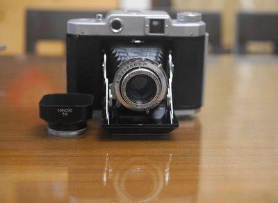 【售】稀有超美品 Mamiya-6 RF連動測距疊影對焦 120中片幅 6x6經典蛇腹機+遮光罩