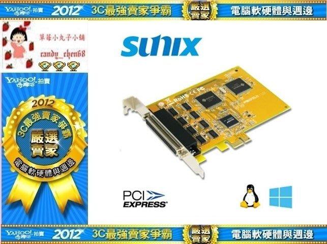 【35年連鎖老店】SUNIX SU 5466A 8埠RS-232 串列 PCI-Express卡有發票/1年保固
