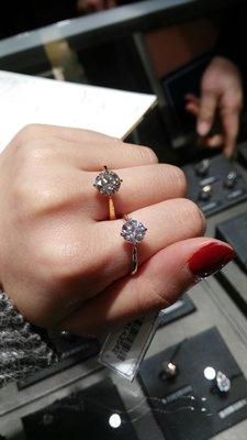 18k鑽石戒指 GIA證書 各類型卡裝鑽戒訂造 0.24ct 起