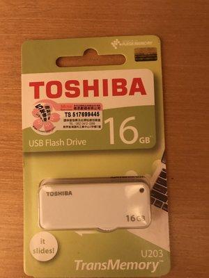 TOSHIBA USB Flash Drive 16GB