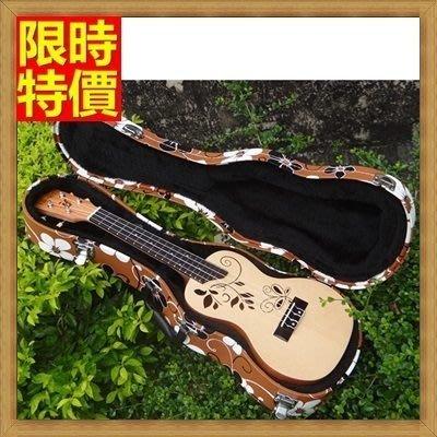 烏克麗麗盒 ukulele 琴箱硬盒配件-23吋堅實抗壓花朵手提背包保護箱琴盒69y42[獨家進口][米蘭精品]