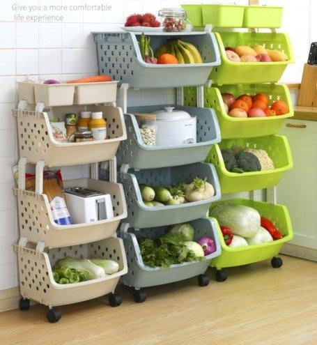 ~幸福家園~加大號5層輪子可推置物架~萬用多層調料廚房蔬菜玩具娃娃用品菜籃~陽台整理收納架~落地家用架~收納籃