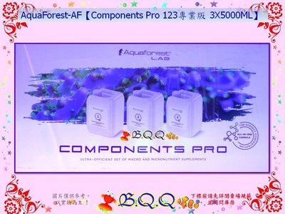 [B.Q.Q小舖]波蘭AquaForest-AF【Components Pro 123專業版 3X5000ML】