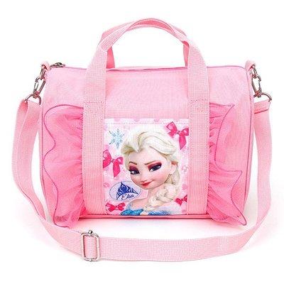 ♀高麗妹♀韓國 Disney FROZEN 冰雪奇緣-艾莎 Elas 側背包.手提包/活動可調式背帶(粉色)預購