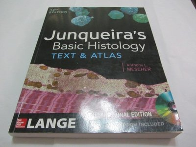 Junqueiras Basic Histology: Text and Atlas》ISBN:1259072320(ㄌ