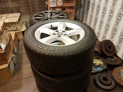 BMW X5 正廠鋁圈 255/55/18 德國馬牌 18吋防爆胎