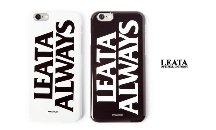 GOODFORIT / 韓國LEATA Leata Always iPhone 6 Case標語手機殼/黑、白