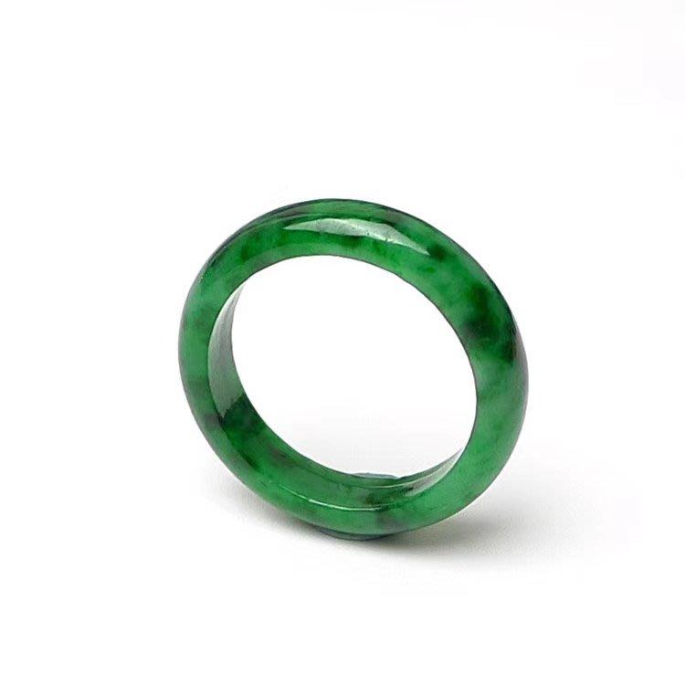 翡翠王朝 緬甸A貨翡翠 老坑冰糯種 滿綠 辣綠 素面 戒指  玉墜  顏色亮種水足 佩戴收藏佳品