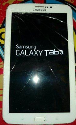 $${故障平板}三星SAMSUNG GALAXY Tab 37.0 3G 白色$$