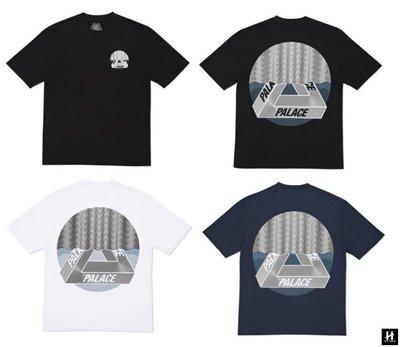 【HOMIEZ】PALACE TRI-CURTAIN T-SHIRT 白色 黑色