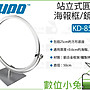 數位小兔【KUPO KD- 854S 站立式 圓形海報框...