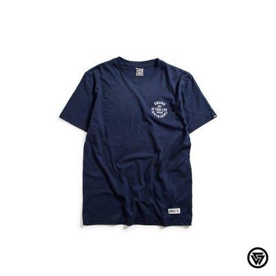 (MARVELOUS) SQUAD Life Slogan T-Shirt 生活標語T-Shirt 深藍色