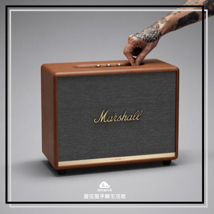 【台中愛拉風藍芽音響專賣店】復古棕MARSHALL Woburn2  無線搖滾重低音 馬歇爾無線喇叭 歡迎試聽 零利率