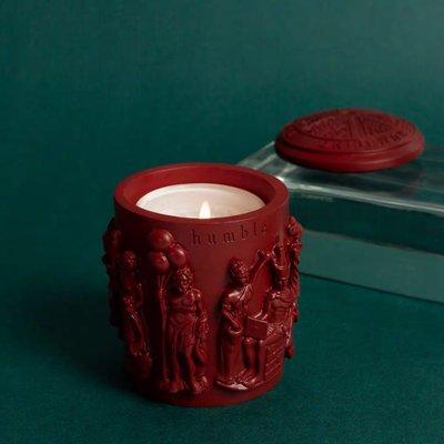 香薰官方授權 humble家用天然香薰蠟燭 全手工雕刻小眾香氛趣味雕塑