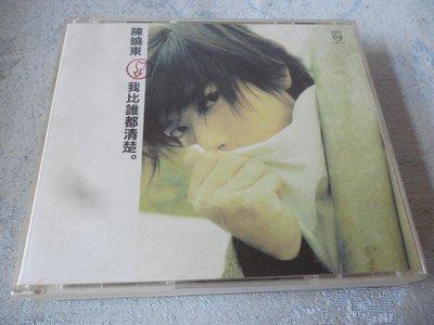 【金玉閣B-2】CD~陳曉東 我比誰都清楚(1cd+1vcd)