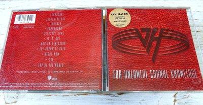 Van Halen范海倫合唱團 For Unlawful Carnal Knowledge【旺福拍賣】