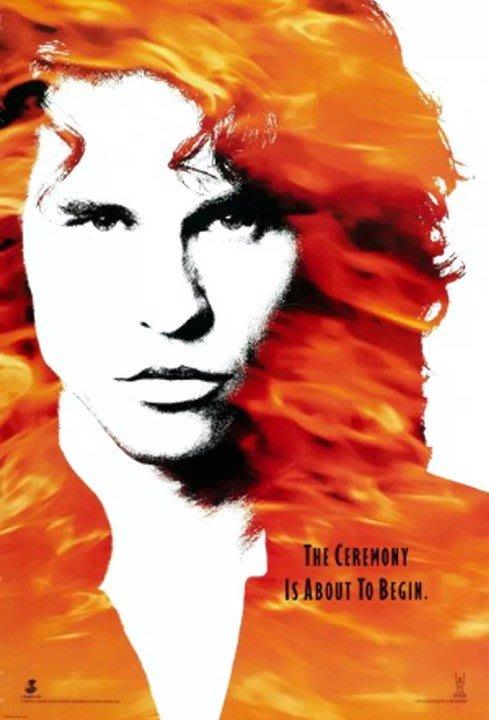 門-The Doors(1991)(預告版)原版電影海報