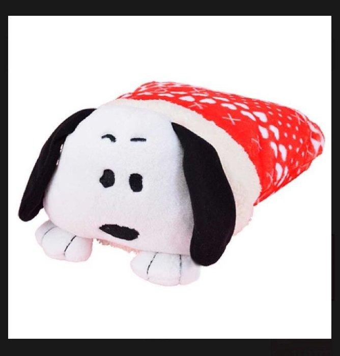 Snoopy -史努比可折疊收納造型小毛毯景品