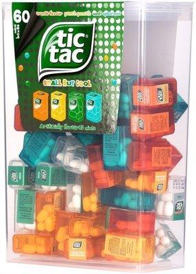 【Sunny Buy】◎預購◎美國 Tic Tac 60小盒 多口味綜合 低卡 每盒3.9克