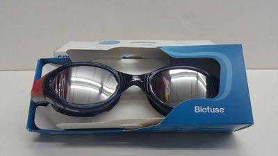 宏亮 Speedo 成人進階鏡面泳鏡泳鏡 智能記憶系統科技 Futura BioFUSE