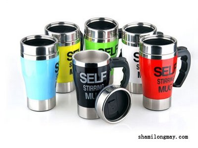 HAPPY+【V5164】創意自動攪拌 咖啡杯 含背蓋 電動懶人 咖啡杯 套裝組 咖啡機 星巴克 Starbucks