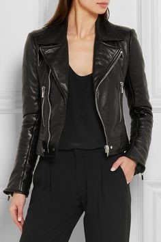 Balenciaga Leather Jacket 180174 Size FR 36/38/40 機車皮衣 黑 現貨