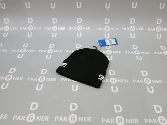 【Dou Partner】ADIDAS Originals Cuff Knit OSFM 毛帽 黑色 ED8017