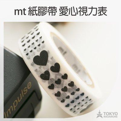 【東京正宗】日本 mt masking tape 紙膠帶 mt 2016 SS 愛心視力表 MT01D329