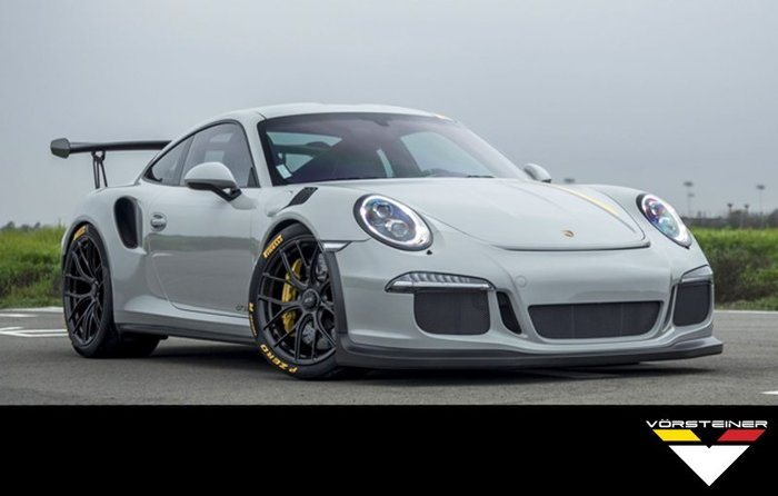 【樂駒】Vorsteiner Porsche 991 GT3 RS V-RS 大包 前下擾流 尾翼 引擎蓋 碳纖維