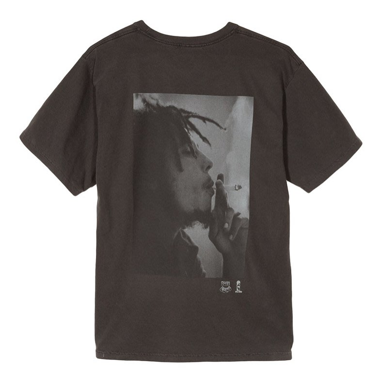 【P+C】Stussy Bob Marley Spliff Tee 巴布馬利 大麻 短袖T恤 男女 黑色 白色