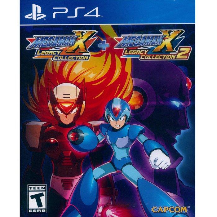 (全新現貨) PS4 洛克人 X 週年紀念合集 1+2 中英日文美版 Megaman X Anniversary