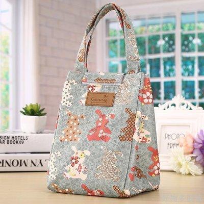 好物多商城 手提袋保溫袋手提包防水保溫便當包牛津布飯盒包手提便當袋飯盒袋