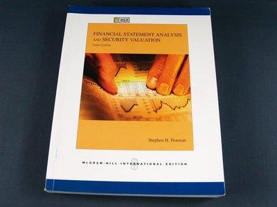 【懶得出門二手書】《FINANCIAL STATEMENT ANALYSIS AND SECURITY VALUATION》(32Z24)