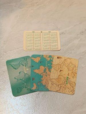 勞力士 Rolex 年曆卡 萬年曆卡 1982-2005 每張300元