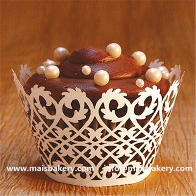聚吉小屋 #熱賣#外貿出口婚禮蛋糕裝飾圍邊 鏤空蕾絲不粘安全無異味烘焙裝飾紙托(價格不同 請諮詢後再下標)