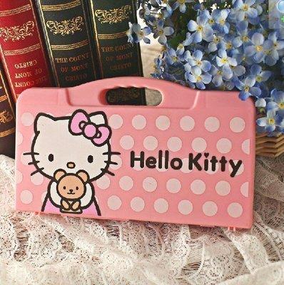 【優上精品】hello Kitty麻將凱蒂貓粉紅色旅行迷你麻將組 贈送迷你籌(Z-P3106)