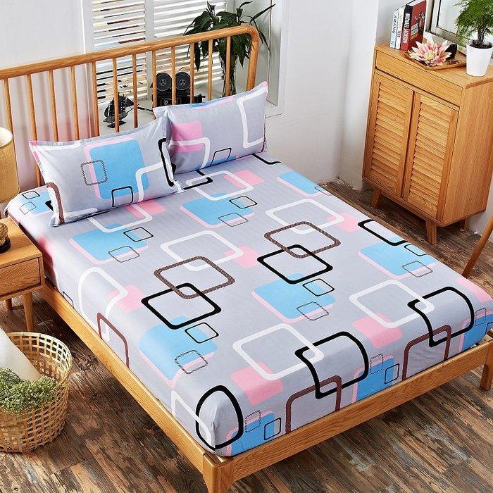 熱賣床笠單件防滑床罩1.8m1.5米席夢思床套款薄床墊防塵保護床單全包#床單#折疊#舒適