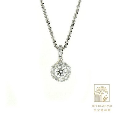 【JHT 金宏總珠寶/GIA鑽石專賣】GIA鑽石  主鑽:0.50 cts  F/VS2  3EX 無螢光