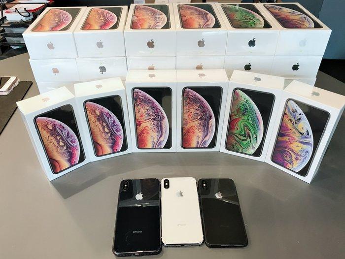 iPhone Xs Max 64G 6.5吋 現貨 全新未拆 免卡分期可詢問【台灣公司貨】台中誠選良品
