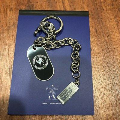 Porter 鑰匙圈 筆記本