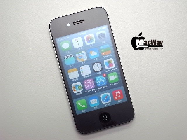 『售』麥威 iPhone 4S 黑色 32GB 台灣機 iOS 7.0.6 !!!