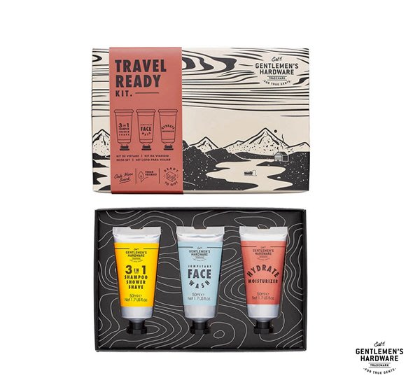 GOODFORIT / 英國Gentlemen's Hardware Travel Ready Kit潔淨旅行禮盒