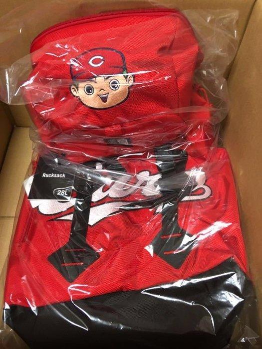 (記得小舖)日本職棒商品 廣島東洋鯉魚 2019 會員限定商品 new era 裝備背包 500個限量