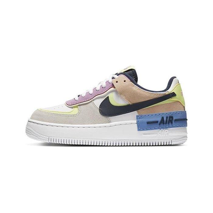南◇2020 12月 NIKE AIR FORCE 1 SHADOW 紫藍 彩色 女鞋 休閒鞋 CU8591-001