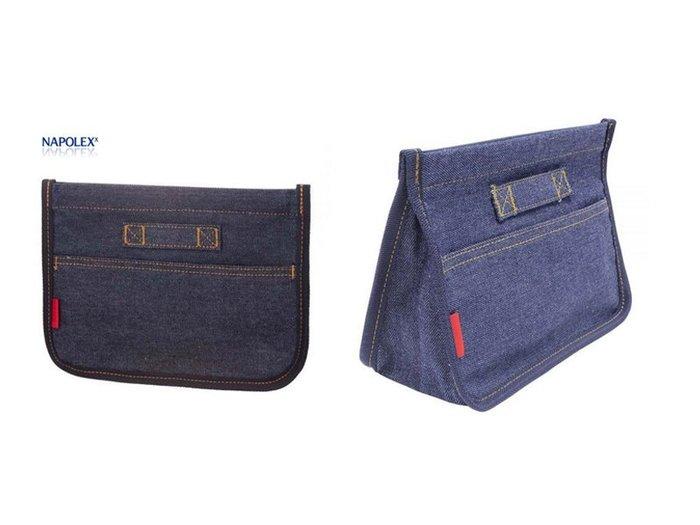 NAPOLEX 牛仔布小型置物袋 LF-145