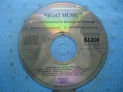 [無殼光碟]BG Night Music 7: Classical Favourites for Relaxing