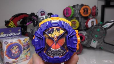 全新 幪面超人 假面騎士 DX Zi-O 鎧武 Kamen Rider Gaim Armor 表玉 Ride Watch