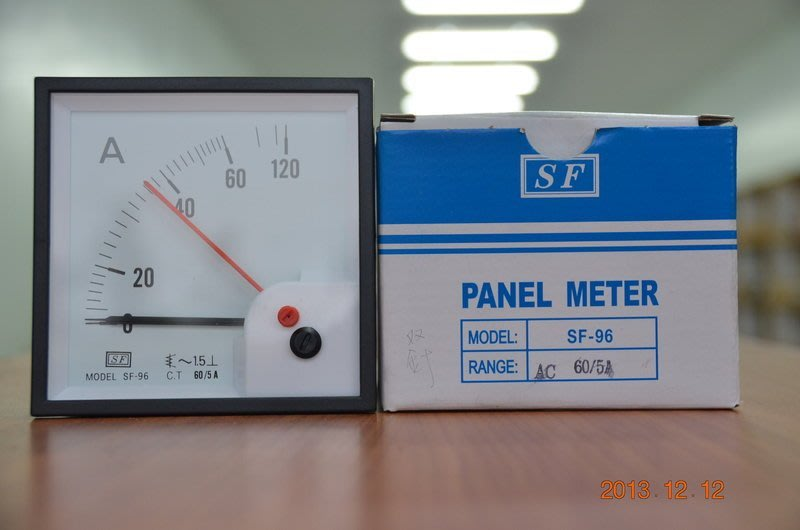 大興 雙指針電流錶 SF-96 Maximum Demand Indicator