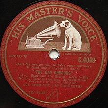 The lady is a tramp 40年代爵士樂  78轉 蟲膠唱片 電木唱片